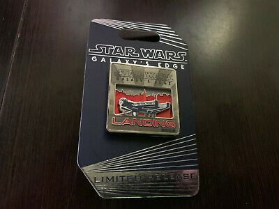 Star Wars Galaxy's Edge Disneyland Landing Falcon 2019 Limited Release Pin