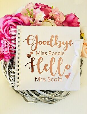 Personalised Hen Party, Hen Do Essential Guestbook, Scrapbook, Memory Book