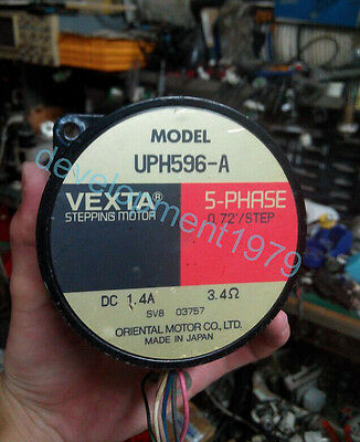 VEXTA Used UPH596-A 5-phase Stepping Motor Tested