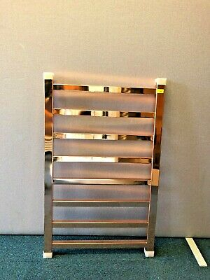 Designer Boutique Style Bathroom Heated Towel Rail 500mm x 800mm Rose Gold