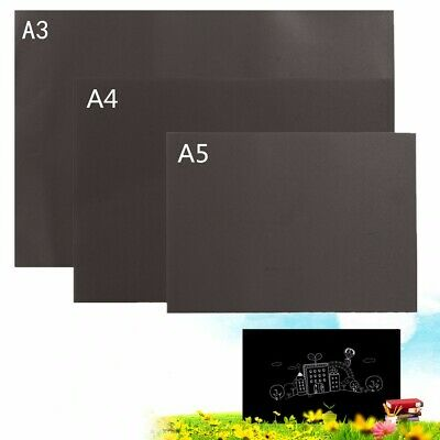 A3 A4 A5 Magnetic Small & Large Blackboard Office Notice Menu Chalk Board NEW