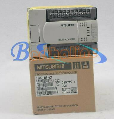 New Mitsubishi PLC FX2N-16MR-001 Programmable Logic Controller In Box