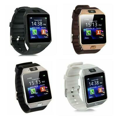 Bluetooth DZ09 Smart Watch Camera Phone Mate GSM SIM For Android iSO Samsung LG