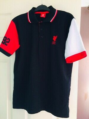 OFFICIAL LIVERPOOL FC POLO SHIRT SIZE LARGE - LFC - Used, In Great Condition