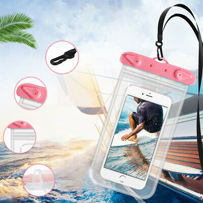 Waterproof Floating Phone Bag Underwater Pouch Dry Case Cover Smart Touch Screen