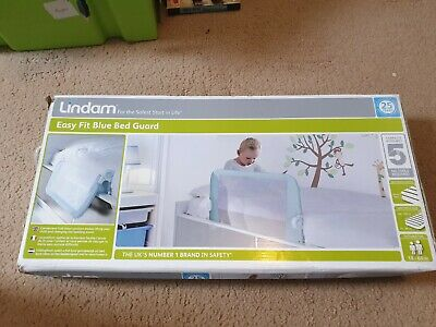 Lindam Easy Fit Blue Bed Guard, Boxed, Tested, Trusted Ebay Shop