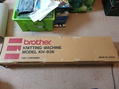 Brother KH-836 Knitting Machine, Boxed, Tested, In Great Condition, Trusted Shop