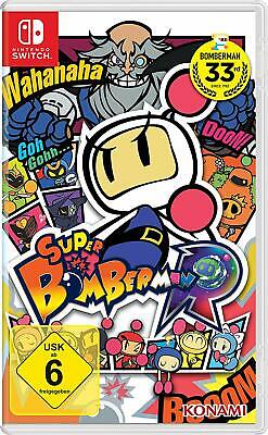 Super Bomberman R - Nintendo Switch - KOMPLETT mit OVP - TOP Zustand