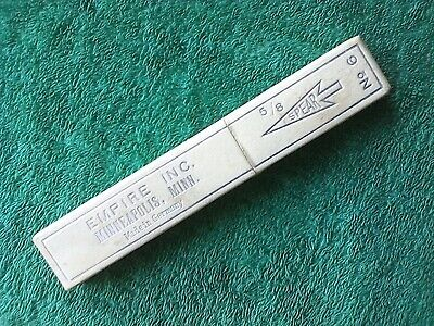 VINTAGE EMPTY STRAIGHT RAZOR CASE EMPIRE INC. SPEAR No. 6
