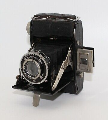 Charles Monti Monte Carlo 4.5x6 120 Film Folding Camera with case - GC & Tested