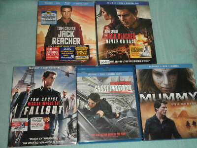 Mission: Impossible - Fallout  Plus 4 more Tom Cruise Movies
