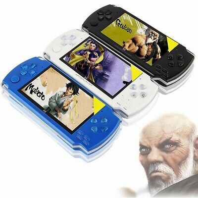 4.3Inch TFT 8G Handheld Game Console Music Video Player Gift 10000+ Games