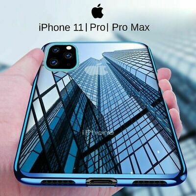 For iPhone 11 Pro MAX/ 11 Pro Transparent Shockproof Protective Bumper Case