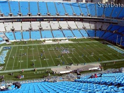 4 Carolina Panthers vs Tennessee Titans Tickets 11/3 ** Aisle Seats **