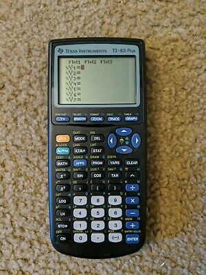 Texas Instruments TI-83 Plus Graphing Calculator No Case