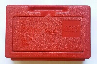 Vintage Lego Storage Case Container Box 11 X 7 Mid Top Flip Lid 1982 Red