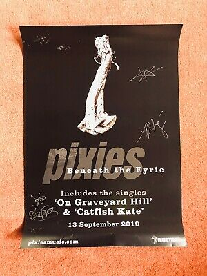 Pixies Beneath the Eyrie Signed Poster 2019 Spillers Records