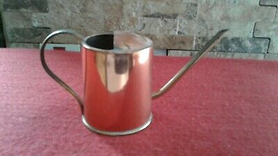 Vintage Copper Watering Can  Small