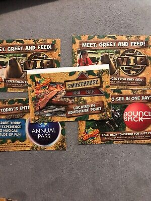 FRIDAY 11th October 5 X Chessington World Of Adventures TICKETS Full Free Entry