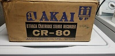 Akai CR-80 with owners manual