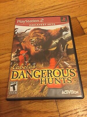 Cabela's Dangerous Hunts Greatest Hits (Sony PlayStation 2, 2003) PS2