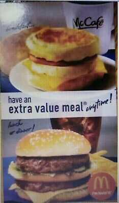 5x - McDonald's Free Extra Value Meal Combo - Great Savings