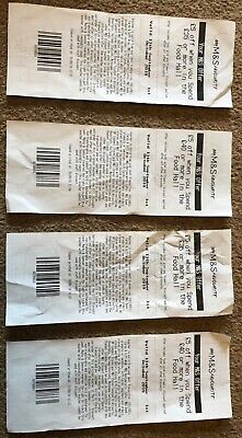 Marks & Spencer's Food hall Vouchers x4 £20 worth !!