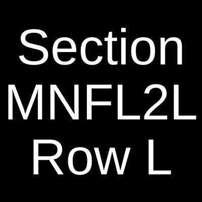4 Tickets Bethel Music 10/7/19 The Chicago Theatre Chicago, IL