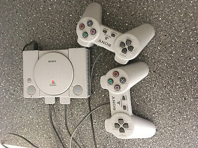 Sony PlayStation Classic Mini CONSOLE with 20 GAMES and 2 CONTROLLERS