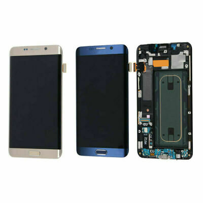 OLED For Samsung Galaxy S6 Edge Plus LCD Touch Screen Display Digitizer Frame A+