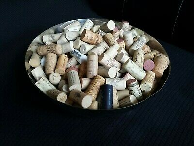 Wine Corks Lot of Over 200 Used, Wedding Favors, Arts and Crafts, Variety