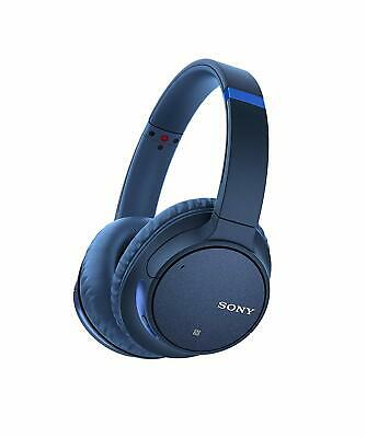 Sony WH-CH700N Wireless Bluetooth Noise Canceling Over-the-Ear Headphones BLUE