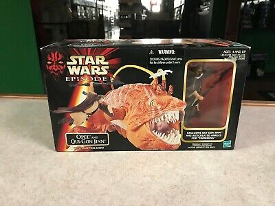 1999 Star Wars Episode 1 OPEE and QUI-GON JINN Figure Set NIB