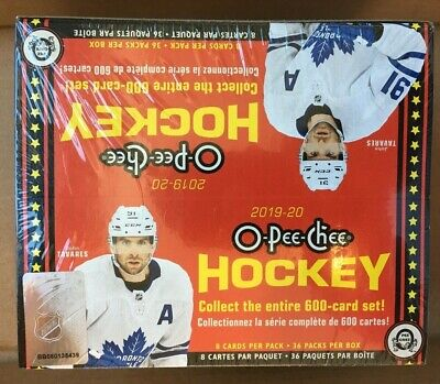 2019-20 O-Pee-Chee Hockey Factory Sealed Box New 36 Packs