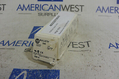 Allen-Bradley 595-A Ser. C Auxiliary Contact 600VAC MAX. *NEW