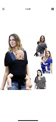 EGMAO Infant Baby Carrier Sling Sling Hip Seat Breastfeed Cover Comfortable Grey