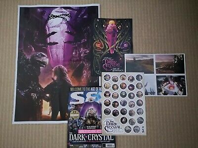 The Dark Crystal-Age Of Resistance Sfx Exclusive Promo Poster/Artcards/Postcards