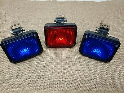 Federal Signal 413250 GS1 Series A Grille Strobe Light WORKING BUT NEW WIRES