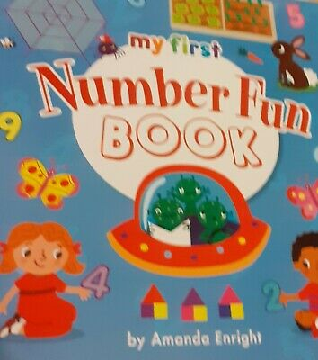 My First Numbers Fun Book NEW counting childrens kids educational Book