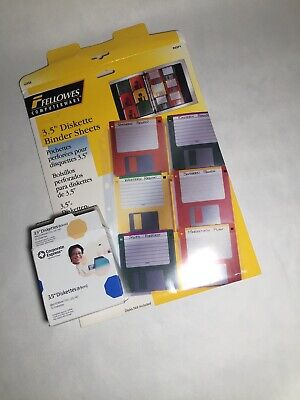 """Corporate Express formatted diskettes 3.5"""" 9 pack floppy disks"""