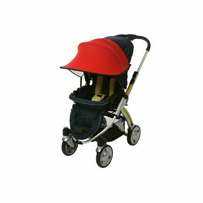 Manito Sun Shade for Strollers and Car Seats (Red) UPF 50+