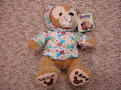 "Disney World Parks 2011 Dated Mickey Mouse Duffy Bear 12"" Plush (NEW)"