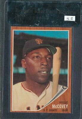 1962 Topps #544  Willie Mccovey  Bvg 5.5 (Ex+) ~ Gfcc