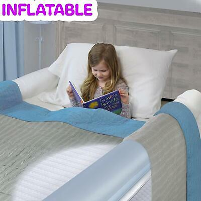 Inflatable Travel Bed Rails for Toddlers. Portable Bed Rail Bumper. Kids Safety