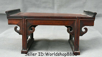 """13.2"""" Antique Old Chinese Huanghuali Wood Dynasty Palace Table Desk furniture"""