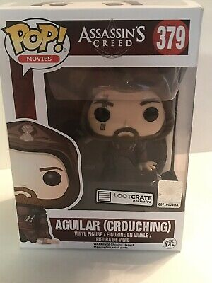 Funko Pop! Anguilar (Crouching) Loot Crate Exclusive Assassin's Creed 379