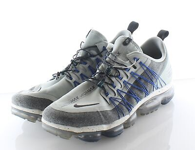 L39 Nike Air VaporMax Run Utility Light Silver Mesh Shoe Men's Sz 15 M