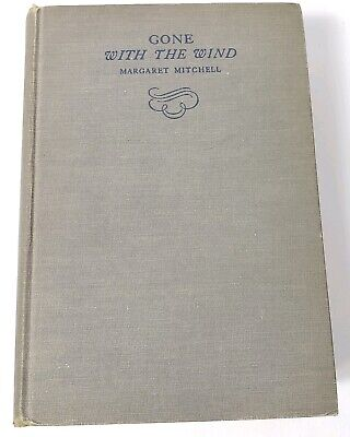 Gone With The Wind June 1936 1st Edition 2nd Print Margaret Mitchell Macmillan