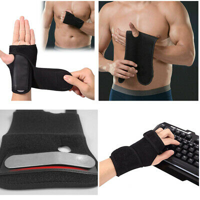 Hand Wrist Brace Support Removable Splint Relieve For Carpal Tunnel Syndrome