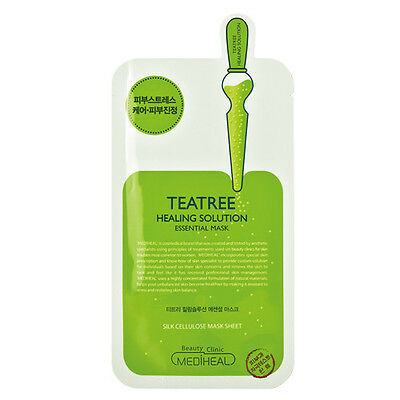 [MEDIHEAL]Teatree Healing Solution Essential Mask Sheet_1EA/Skin care/Calming